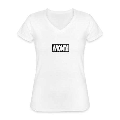 NEW!! merch - Klassiek vrouwen T-shirt met V-hals