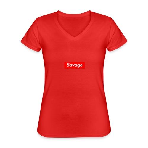 Clothing - Classic Women's V-Neck T-Shirt