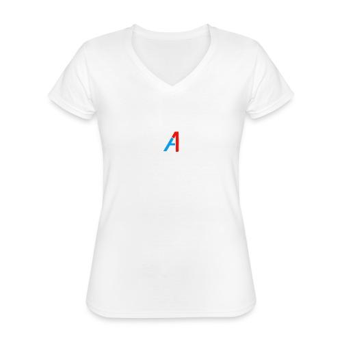 A1 Merch - Klassisches Frauen-T-Shirt mit V-Ausschnitt