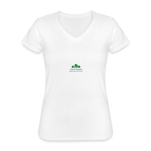 TOS logo shirt - Classic Women's V-Neck T-Shirt