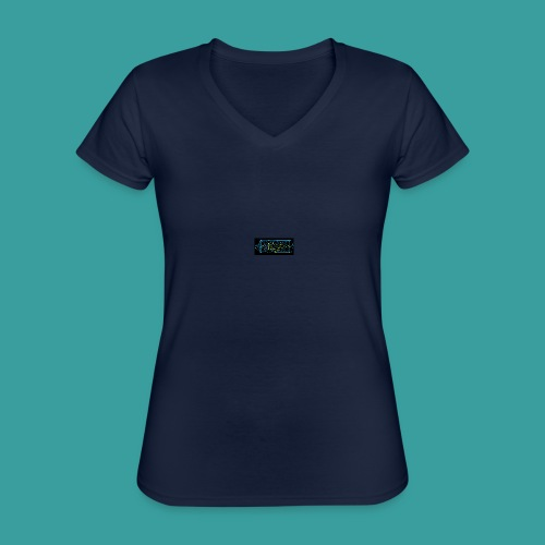 simmetria intelletuale - Maglietta da donna classica con scollo a V