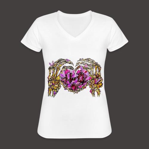 L amour Cristallin Creepy - T-shirt classique col V Femme