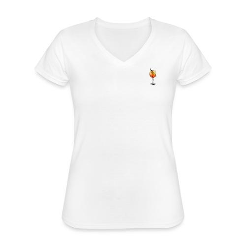 PicoSprizzo - Klassisches Frauen-T-Shirt mit V-Ausschnitt