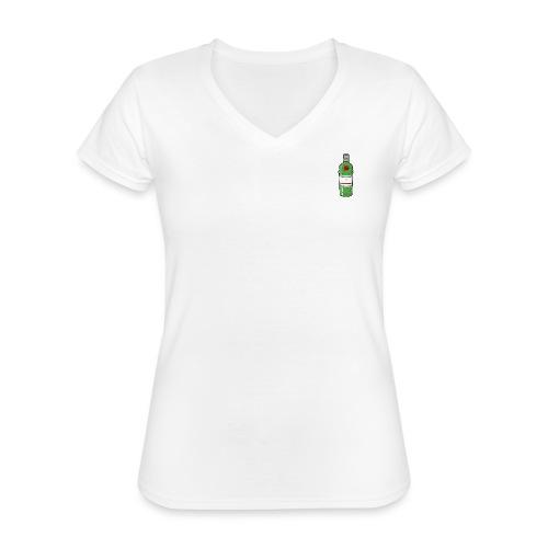 GREEN CAMERONBRIDGE GIN - Klassisches Frauen-T-Shirt mit V-Ausschnitt