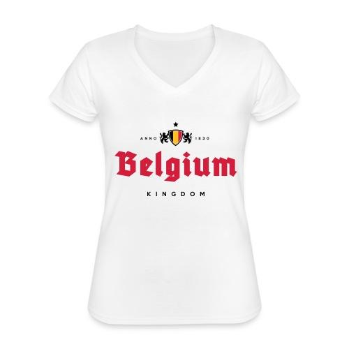 Bierre Belgique - Belgium - Belgie - T-shirt classique col V Femme