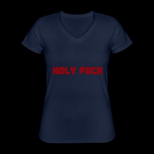 HOLY FUCK - Maglietta da donna classica con scollo a V