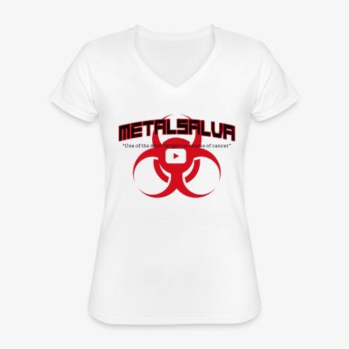 METALSALVA Cancer #1 - Maglietta da donna classica con scollo a V