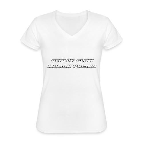 RSM Racing Logo - Classic Women's V-Neck T-Shirt