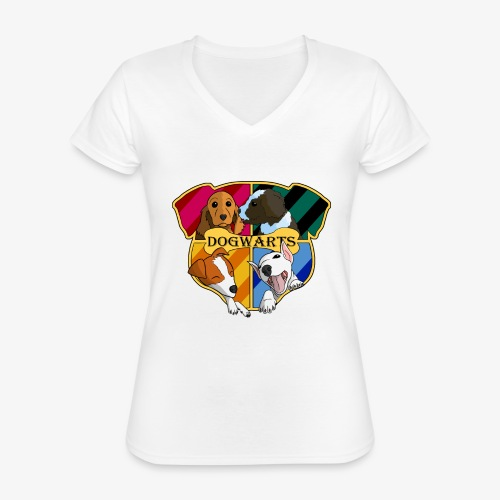 Dogwarts Logo - Classic Women's V-Neck T-Shirt
