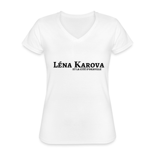 Lena Karova - Produits Dérivés - - T-shirt classique col V Femme