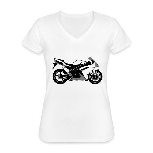 R1 07-on V2 - Classic Women's V-Neck T-Shirt
