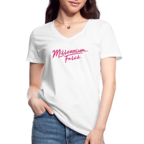 Millennium Falck - 2080's collection - Classic Women's V-Neck T-Shirt