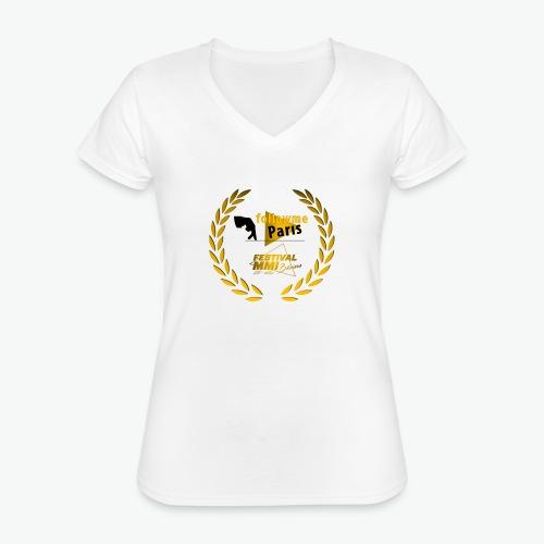Followme Paris lauréat Festival MMI Béziers - T-shirt classique col V Femme