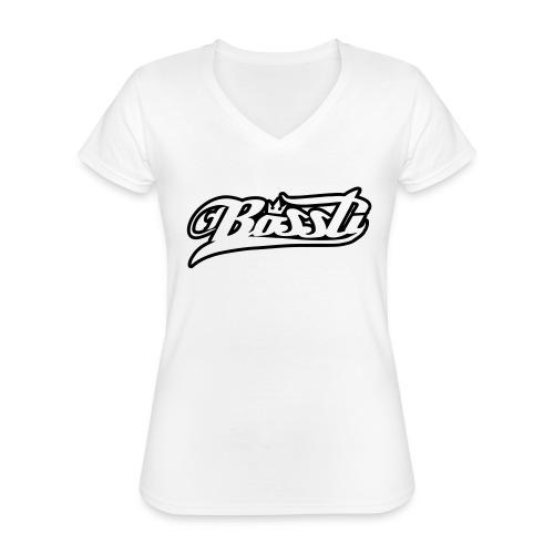 Bossti Hoodie - Klassisches Frauen-T-Shirt mit V-Ausschnitt