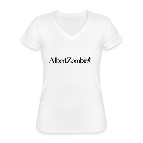 Albert Zombie - T-shirt classique col V Femme