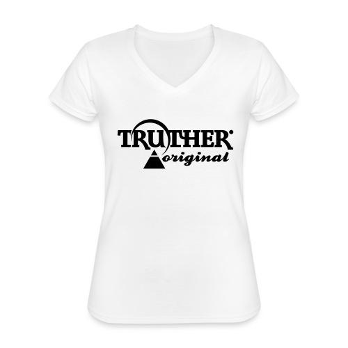 Truther - Klassisches Frauen-T-Shirt mit V-Ausschnitt