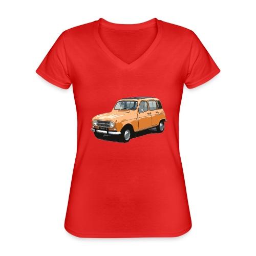 My Fashion 4l - T-shirt classique col V Femme