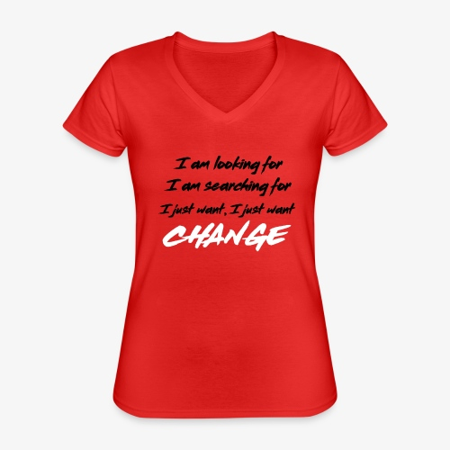 Change (NF) 1.1 - Classic Women's V-Neck T-Shirt