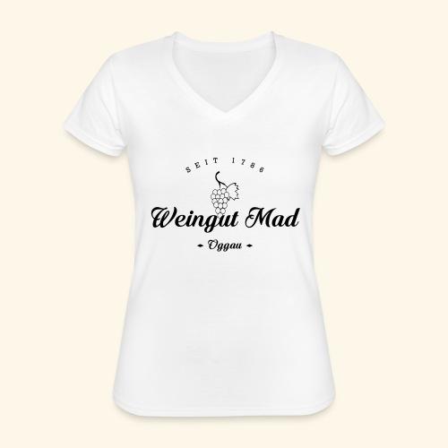 seit 1786 - Klassisches Frauen-T-Shirt mit V-Ausschnitt