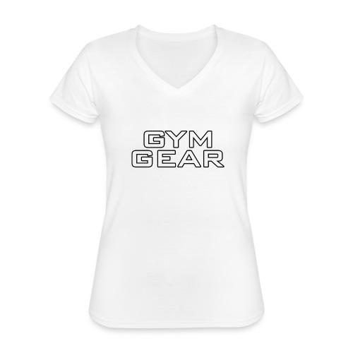 Gym GeaR - Classic Women's V-Neck T-Shirt