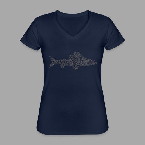 grayling - Klassinen naisten t-paita v-pääntiellä