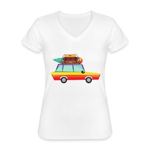 Gay Van | LGBT | Pride - Klassisches Frauen-T-Shirt mit V-Ausschnitt