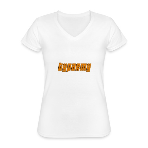 TypArmy - Hoodie - Klassisches Frauen-T-Shirt mit V-Ausschnitt