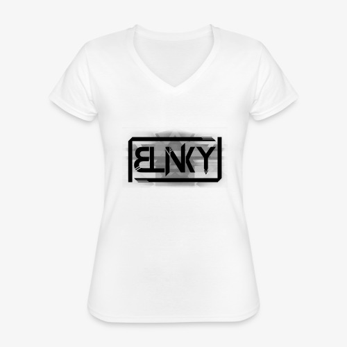 Blinky Compact Logo - Classic Women's V-Neck T-Shirt