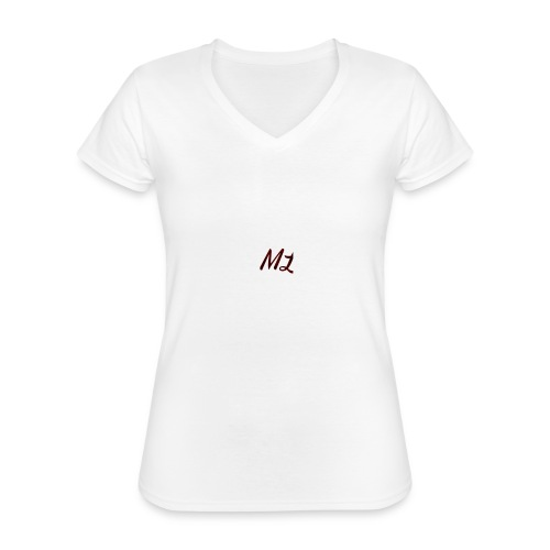 ML merch - Classic Women's V-Neck T-Shirt