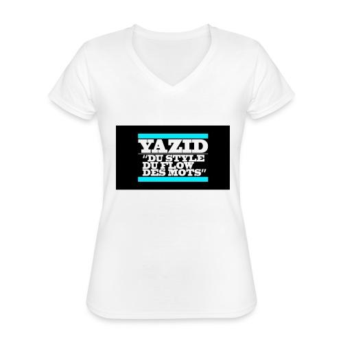 jdfcrea serie 1 - T-shirt classique col V Femme