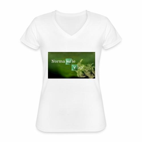 Normandie Vap' - T-shirt classique col V Femme