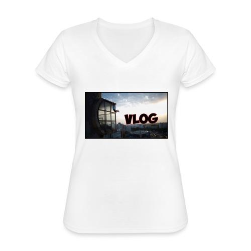 Vlog - Classic Women's V-Neck T-Shirt