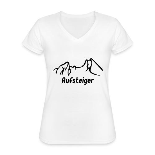 Bergsteiger Shirt - Klassisches Frauen-T-Shirt mit V-Ausschnitt