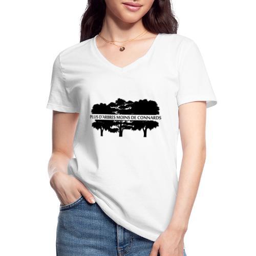 Plus d'Arbres Moins de Connards - T-shirt classique col V Femme