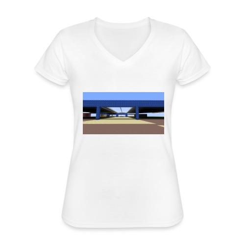 2017 04 05 19 06 09 - T-shirt classique col V Femme