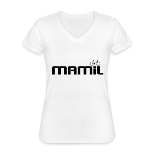 mamil1 - Classic Women's V-Neck T-Shirt