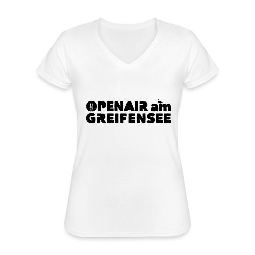 Openair am Greifensee 2018 - Klassisches Frauen-T-Shirt mit V-Ausschnitt