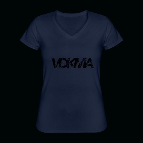 vdkma x 130 x spörts - Klassinen naisten t-paita v-pääntiellä