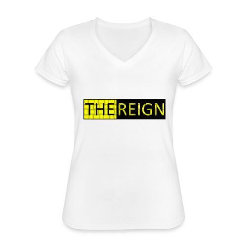 theREIGN Logowear - Classic Women's V-Neck T-Shirt