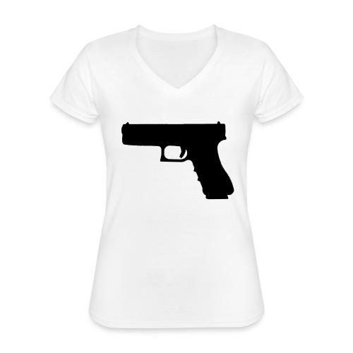 The Glock 2.0 - Classic Women's V-Neck T-Shirt
