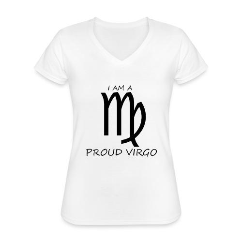 VIRGO - Classic Women's V-Neck T-Shirt