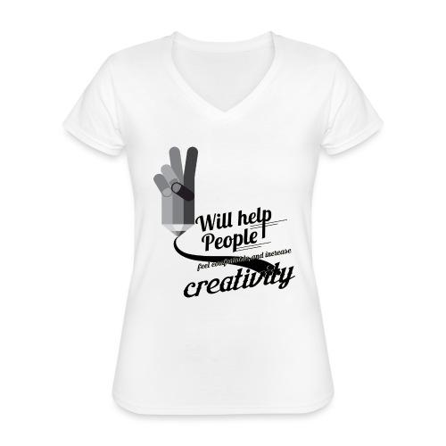 crati - Classic Women's V-Neck T-Shirt
