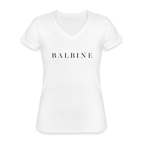 BALBINE Shirt - Klassisches Frauen-T-Shirt mit V-Ausschnitt