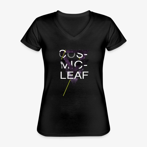 Cosmicleaf Triangles - Classic Women's V-Neck T-Shirt