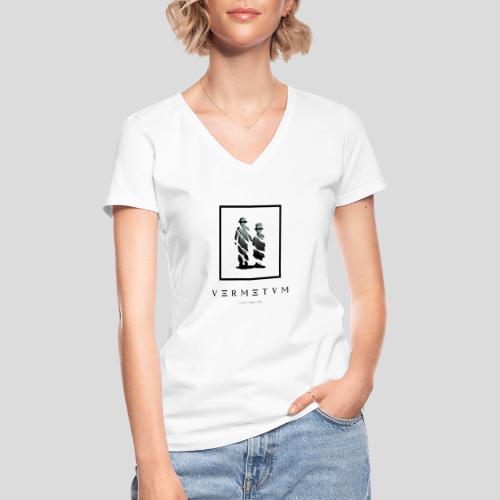 VERMETUM HIDDEN TRUTH EDITION - Klassisches Frauen-T-Shirt mit V-Ausschnitt