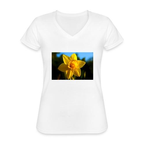 daffodil - Classic Women's V-Neck T-Shirt