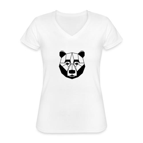 ours - T-shirt classique col V Femme