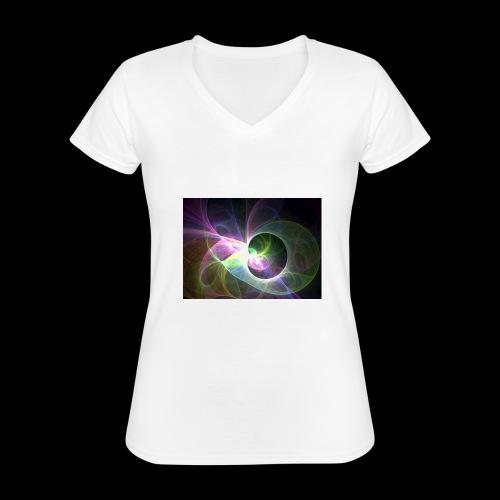 FANTASY 2 - Klassisches Frauen-T-Shirt mit V-Ausschnitt