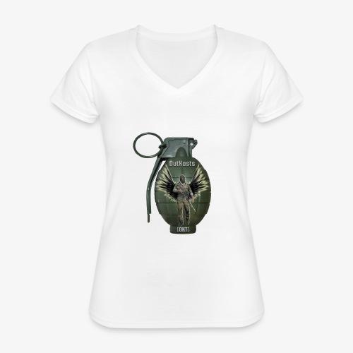 grenadearma3 png - Classic Women's V-Neck T-Shirt