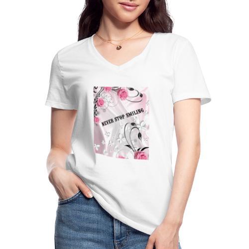 1541709554668 - Maglietta da donna classica con scollo a V